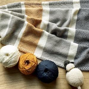 Pure Woollen Baby Blanket B