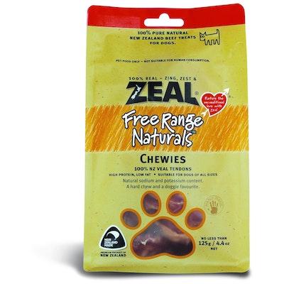 Zeal Free Range Naturals Chewies Dog Treats 125G