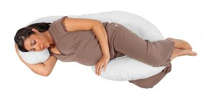 body pillow with chevron grey pillow case