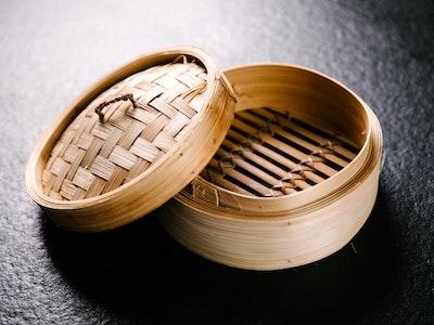 Dumpling Steaming Basket & Lid