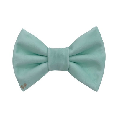 Swanky Paws Green Bow Tie