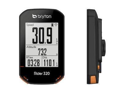 Rider 320 with Cadence Sensor & Heart Rate Monitor