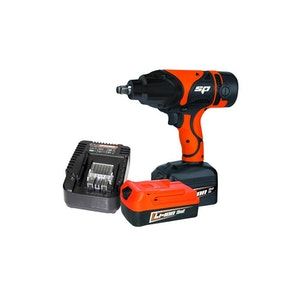"""Cordless Impact Wrench Kit 18v 1/2"""" Charger + 2x 3.0Ah Batteries SP81128"""