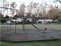 Glen Cromie cabins and play area are fine
