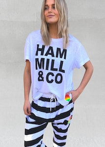 Hammill & Co - Logo Tee - White
