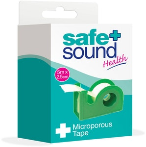Safe + Sound Microporous Tape 5m x 2.5cm