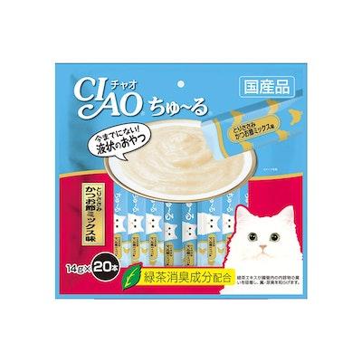 INABA CIAO Churu Puree Cat Wet Treat- Chicken Fillet Variety 14g x 20