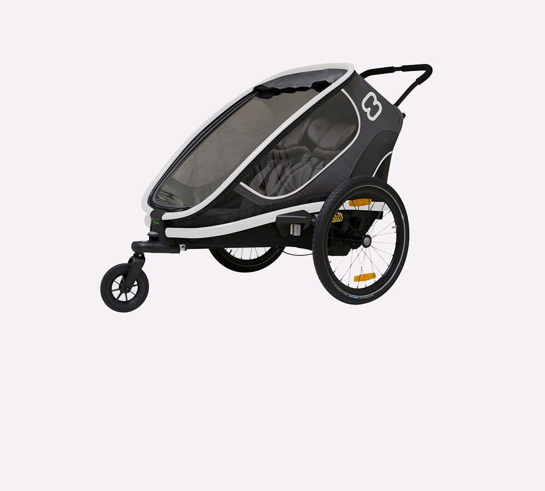 HAMAX OUTBACK RECLINE FOR TWO CHILDREN