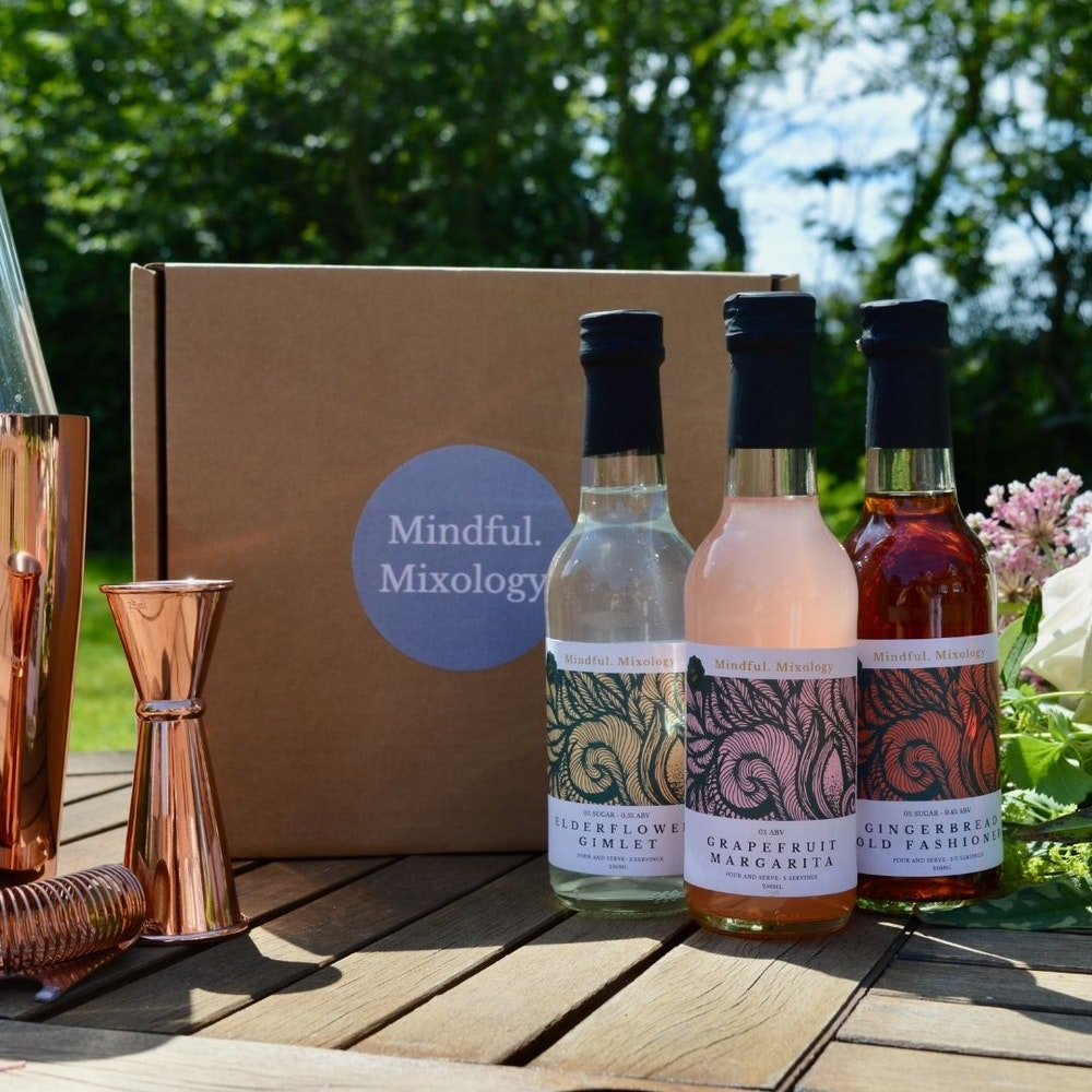 Mindful Mixology 'low And No' Abv Cocktail Set