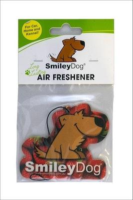 Smiley Dog Strawberry Air Freshener