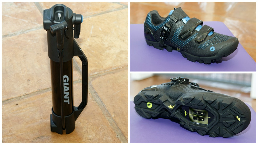 giant 2017 mountain bike flow shoes tubeless pump 9