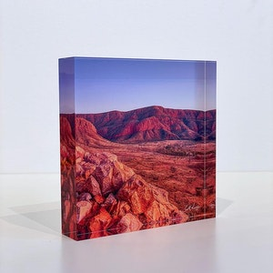 ANCIENT DAWN - Acrylic Desk Block