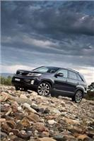 Kia Sorento heavier duty towing option allows towball down weight  of up to 150kg