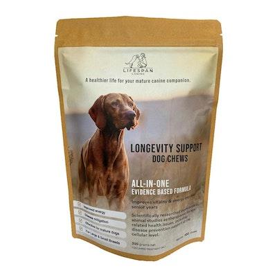 Lifespan Canine Lifespan Longevity Support Dog Chews 300G