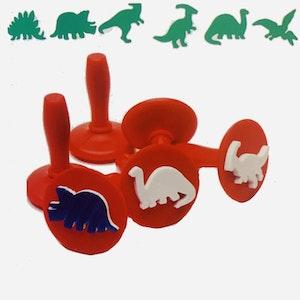 Wild Dough Dinosaur Stampers