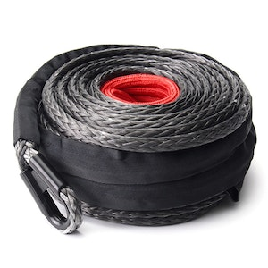 Fieryred FIERYRED 10MM x 30M Synthetic Winch Rope Dyneema SK75 Tow Recovery Cable Offroad 4WD
