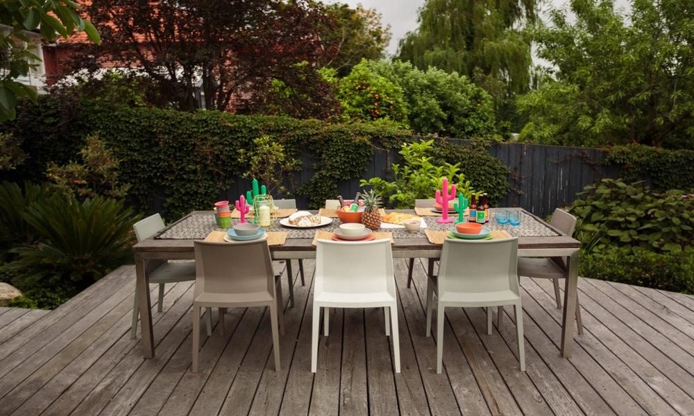 Summer Series, Fun Alfresco Dining