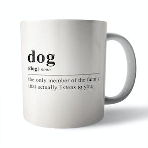 Dictionary Definition: Dog - Ceramic Mug