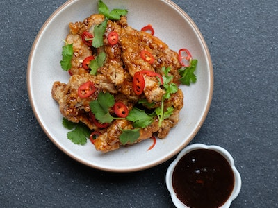 Salt and Pepper Chicken Spare Ribs