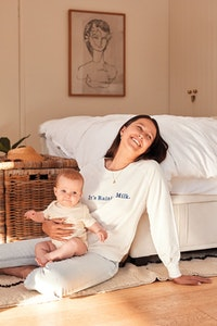 OMM Label Raining Milk Sweatshirt