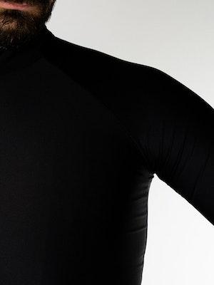 Twenty One Cycling Factory Midweight jersey - Black - Men