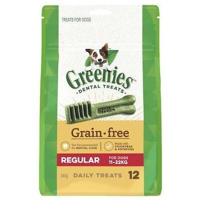 Greenies Grain Free Regular 340g