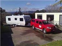 GoSeeNewZealand gets ready road with Hilux and Liesure Line caravan