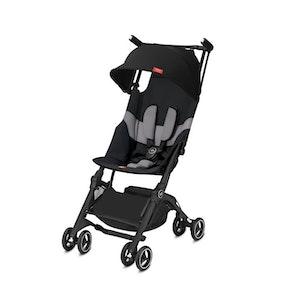 GoodBaby Pockit+ All-terrain Stroller. Velvet Black