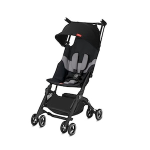 GoodBaby Pockit+ All-terrain Stroller. Velvet Black