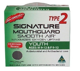 Signature Type 2 Competition And Club Sports Mouthguard Youth (SM32)