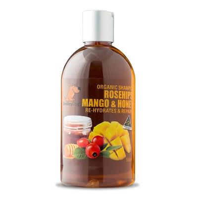 Smiley Dog Organic Extract Rosehips, Mango & Honey Shampoo