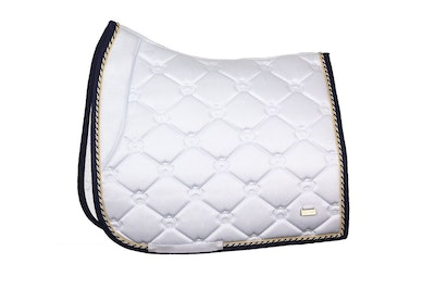 PS OF Sweden White Lap Of Honour Saddle Pad