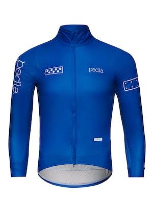 Pedla Team / AquaDRY Jacket - Process Blue