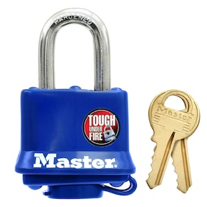 Master Lock 312D 40mm Wide Weather Resistant Laminated Steel Padlock