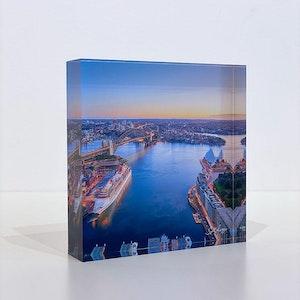 SYDNEY AWAKES - Acrylic Desk Block