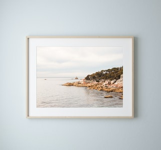 """Sloop Rock"" Tasmania Photography Print"