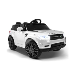 Simply Wholesale Rigo Kids Ride On Car White