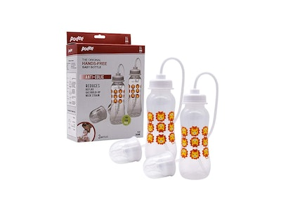 Podee® Hands Free Baby Bottle (Twin/260ml) Lion