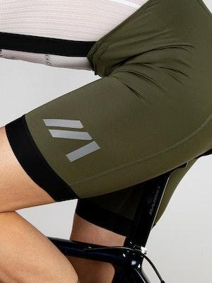 Twenty One Cycling Factory Midweight culotte - DarkOliveGreen - Men