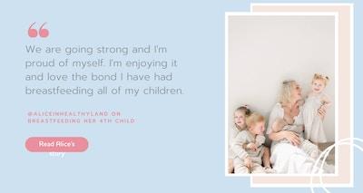 World Breastfeeding Week - Celebrating with @aliceinhealthyland