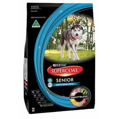 Supercoat Smartblend Senior Tuna Dry Dog Food