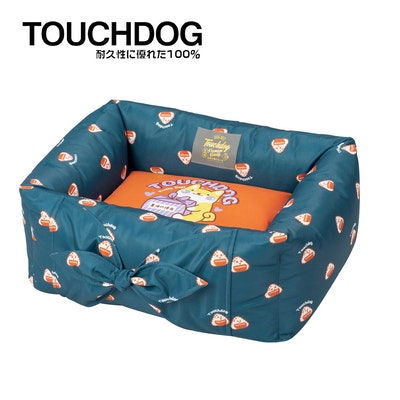TOUCHDOG Onigiri Series Premium Designer Bento Pet Bed - Blue