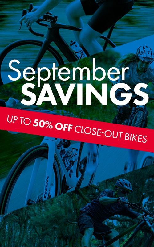Tri Bike Run's September Sales Event!