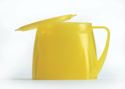 Steadyco Lets Eat Cup & Lid Yellow