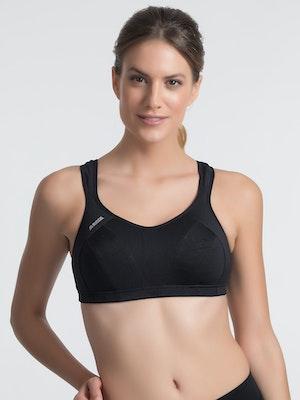 Active Multi Support Sports Bra - Black