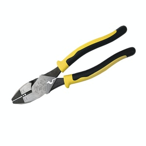 Klein Side Cutting Pliers with Crimper and Wire Stripper 229mm