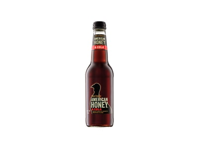 Wild Turkey American Honey Liqueur & Cola Bottle 330mL 4 Pack