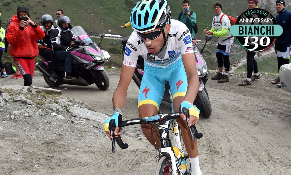 Contador's Pink Under Threat During Climb, and Podium Groundhog Day