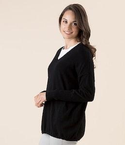 Gordon Smith V-Neck Sweater - Black