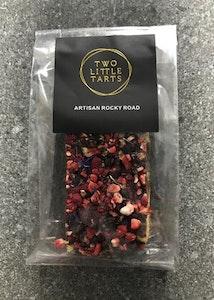 Dark Chocolate Vegan Rocky Road, Honeycomb, hazelnut & red berries